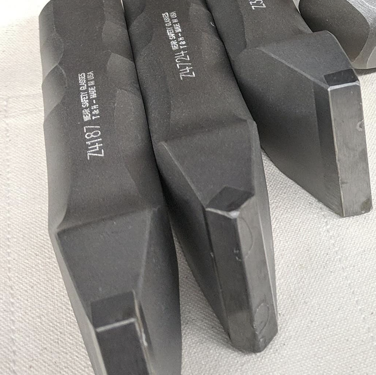 Trow and Holden tools with serial numbers
