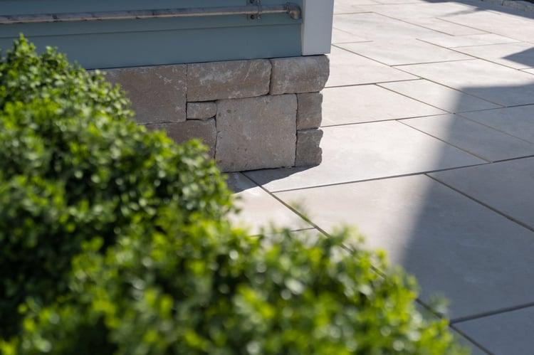 Polycor Indiana Limestone pavers and veneer