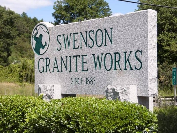 Swenson Granite Works Shrewsbury and South Hadley, Massachusetts