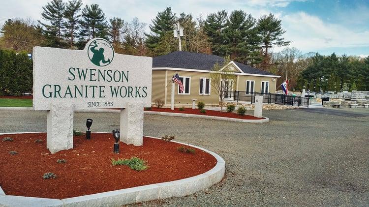 Swenson Granite Works South Hadley, Massachusetts Store