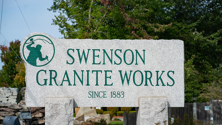 Swenson Granite Works Amherst, New Hampshire retail store