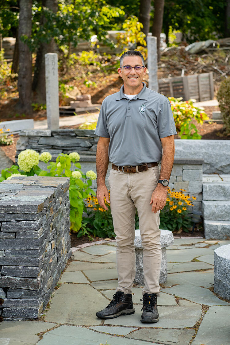Swenson Granite Works Concord Store Manager Dennis Ames