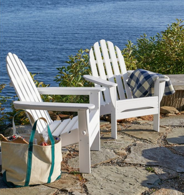 L.L. Bean Adirondack chairs