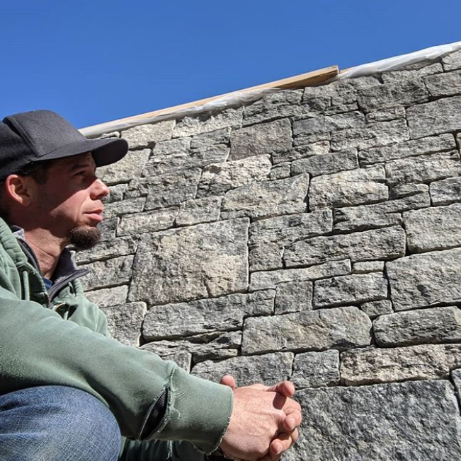 Massachusetts-based landscape architect Neil Best of Magma Design Group shares thoughts on the use of  New England's natural stone in sustainable design.