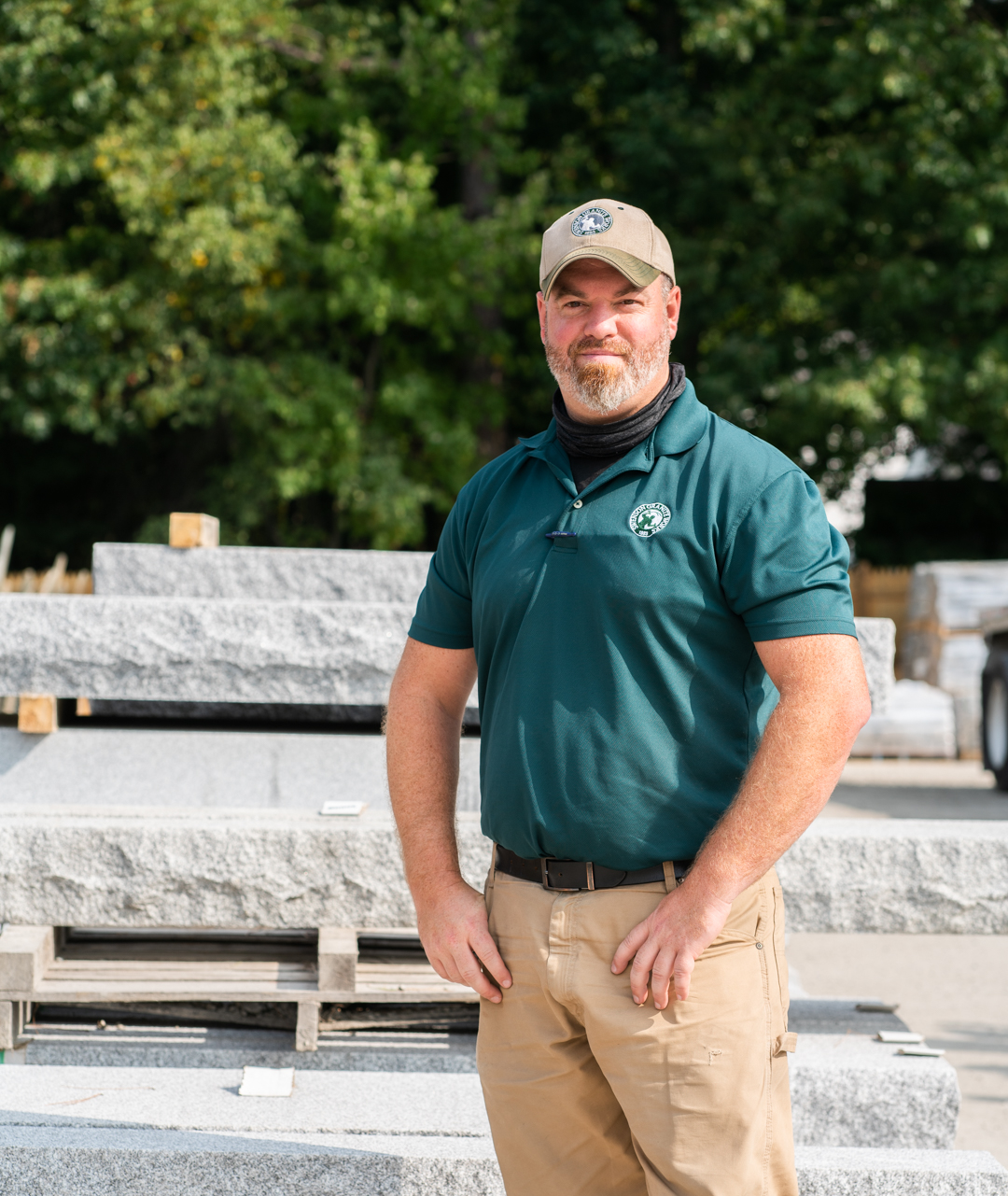 Swenson Granite Works Amherst Store Manager Ryan Mesick