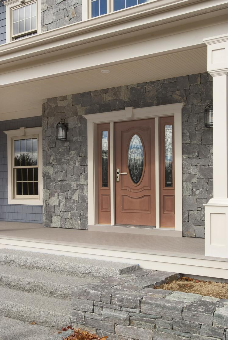 Square and rectangular Corinthian granite