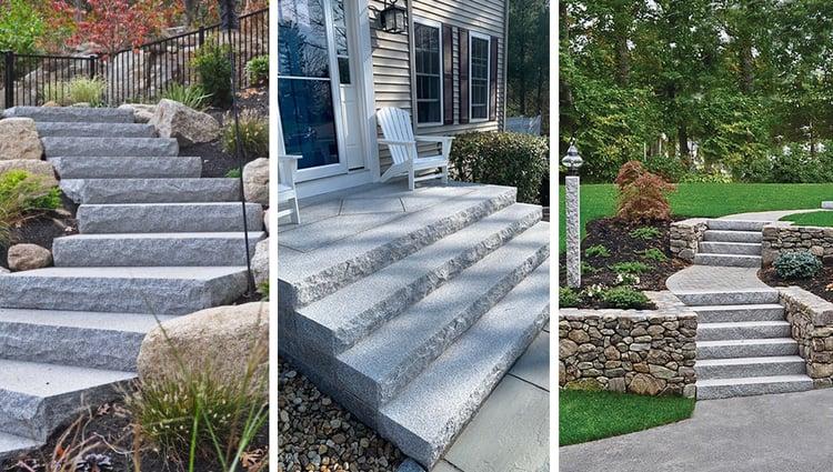 Swenson Granite Works granite steps