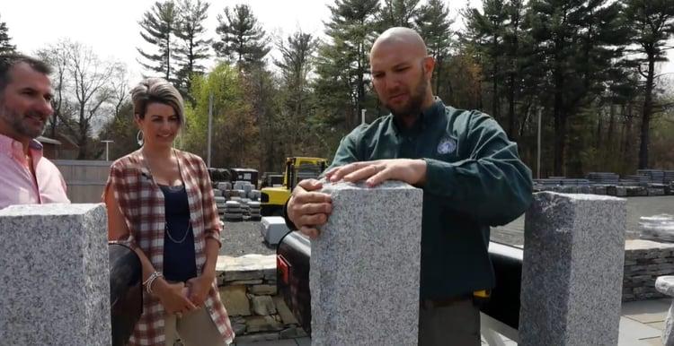 South Hadley, Massachusetts realtor Aimee Kelly at Swenson Granite Works