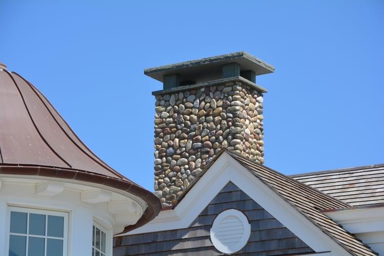 Bluestone chimney cap