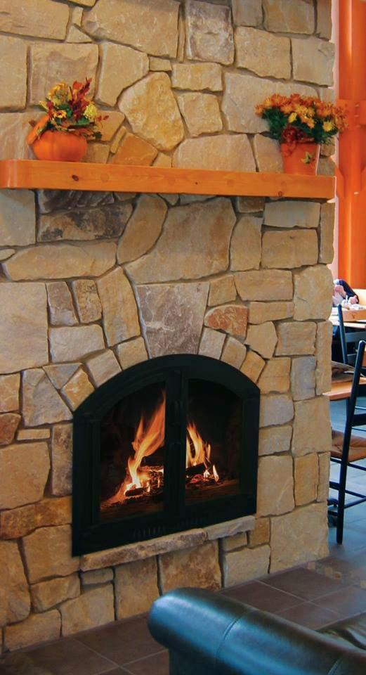 Indoor Fireplace Quartzite Veneer