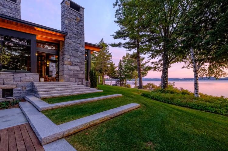 Swenson Woodbury Gray granite steps