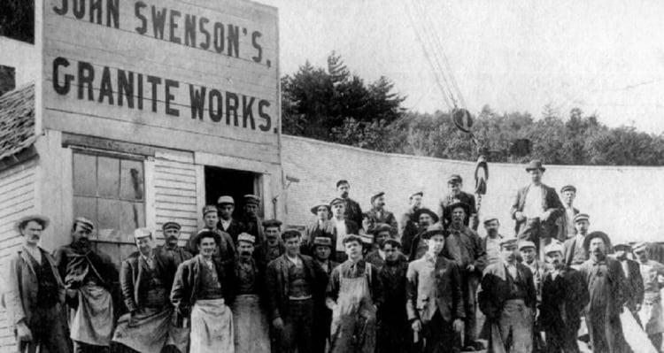 Swenson Granite Works  historical photo