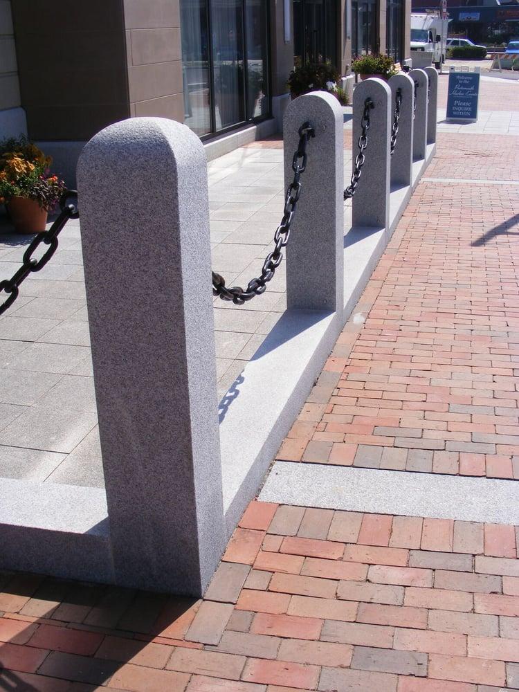 Woodbury Gray hitching posts