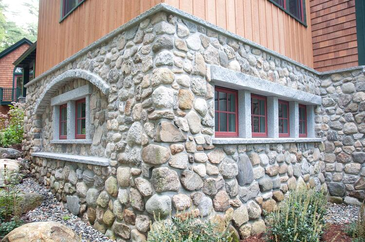 Granite window sills, headers, header supports