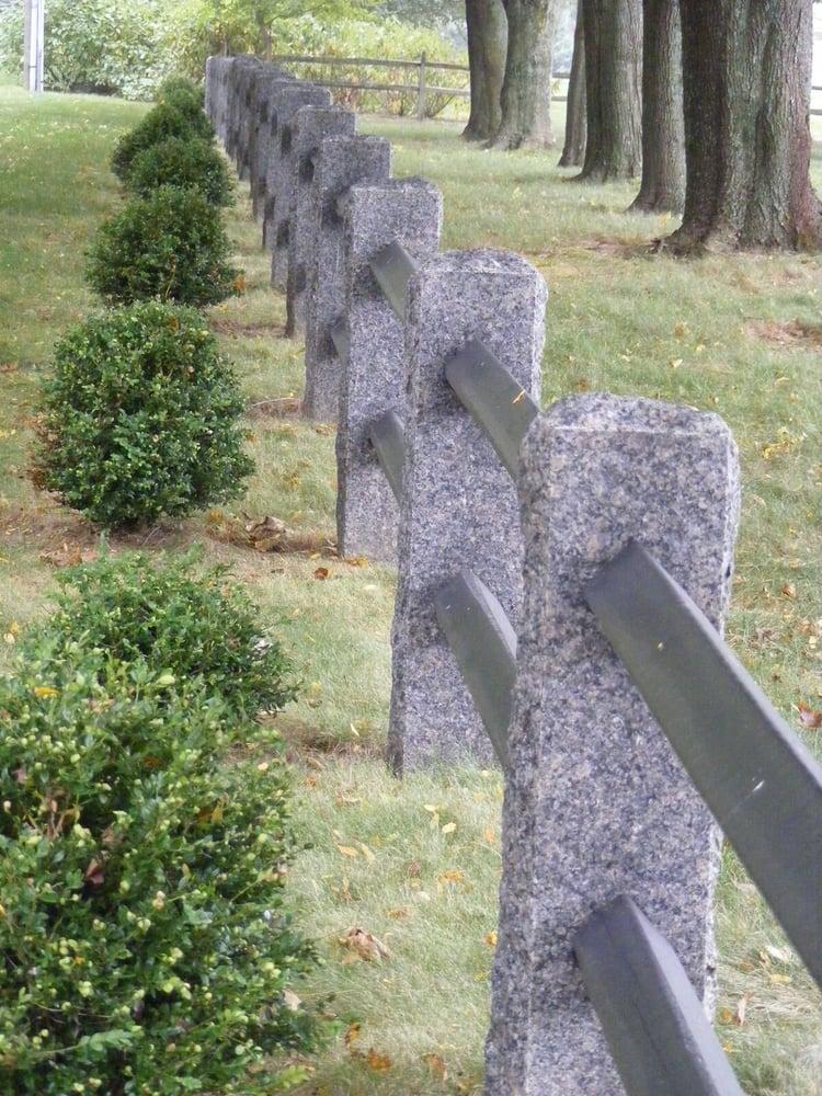 Caledonia Granite fence posts