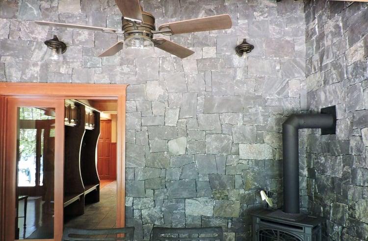 Corinthian square and rectangular thin veneer walls