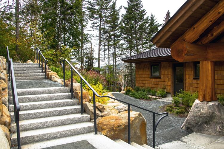 Moosilauke Ravine Lodge  Swenson Granite