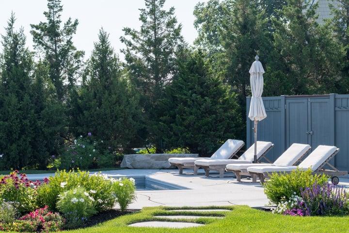Woodbury Gray pool patio  Rye, NH