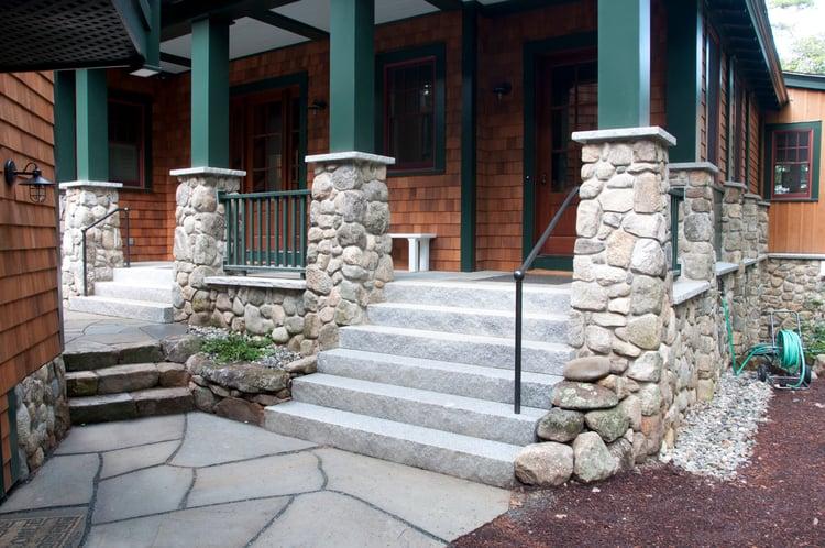 grey-granite-steps-natural-stone-wall-lakehouse-Swenson-granite.jpg