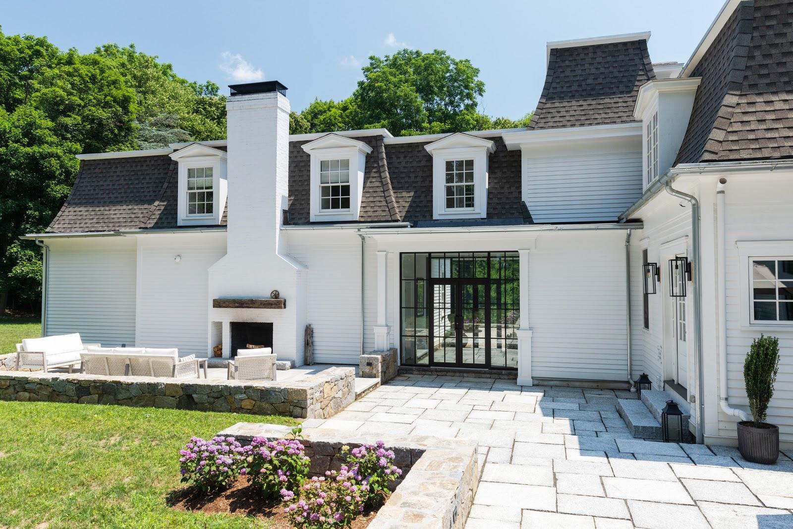 Eva Amurri backyard project with Swenson Granite