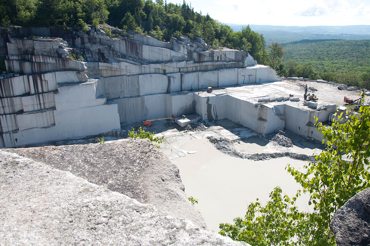 Woodbury Quarry in Woodbury, Vermont