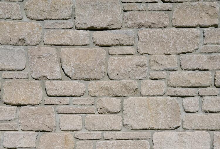 Rockford Estate Blend® Indiana limestone veneer from Swenson Granite Works